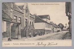 AK Lettland Tuckum Altmockensche Str. 1904 Foto O.Saldow - Lettonie