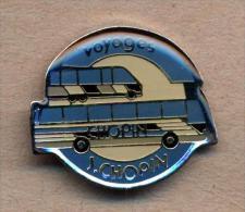 Pin´s Voyage Bus Chopin - Non Classificati