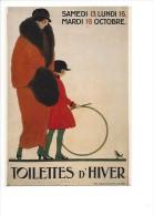12298 - Toilettes D'Hiver Femmes (reproduction D´affiche) Format 10X15 - Mode