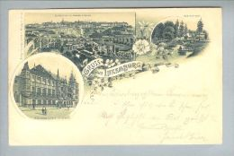 AK Luxemburg 1899-03-20 Litho Louis Glaser #849 - Luxembourg - Ville