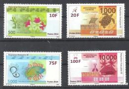 2014 Polynésie   Série  Billets De Banque En Franc CFP. - Neufs