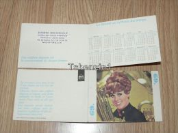 Wella Eugene Brunisholz Montreaux Calendar France 1969 - Petit Format : 1961-70