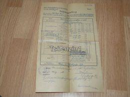 Wien 1921 Zahlungsauftrag Austrria Österreich - Austria