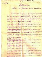 INSTRUCTION EMPLOI CHEDDITE ETAT MAJOR 1915 GUERRE GENIE EXPLOSIF
