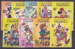 Dominique  N°621/629 - Neusf ** - Superbe - Dominique (1978-...)