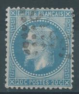 Lot N°27934   Variété/n°29, Oblit GC, Nuage Au Dessus De La Tête - 1863-1870 Napoleon III With Laurels