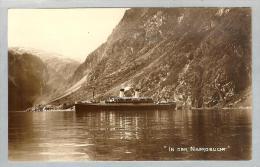 AK Norwegen Naerobucht Ca. 1941 MS Monte-Sarmiento Foto - Norvège