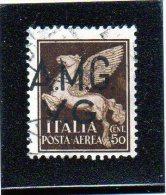 1945 - Trieste - AMG-VG - Posta Aerea - 7. Trieste