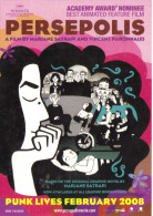 "15L : Movie Cinema Poster AdCard : Zocard ""Persepolis"" - Afiches En Tarjetas"