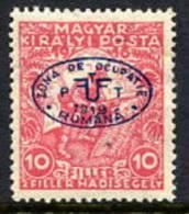DEBRECEN 1919 10f War Charity   MNH / **.  Michel 11 - Debreczen