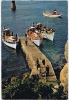 Cpm ILE DE BREHAT  Embarquement Par Marée Basse A Port Clos - Ile De Bréhat