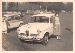 """01403 """"AUTO - ALFA ROMEO GIULIETTA - I SERIE """" ANIMATA. ANNI '50. FOTOGRAFIA ORIGINALE. - Automobili"""