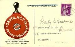 Belle  Cpa Publicité -  Serolactyl  Autopulvérisation  ,Laboratoires Des Produits Biologiques            E1029 - Advertising
