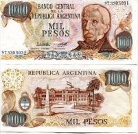 ARGENTINA 1000 PESOS 1976-83  FDS UNC SAN MARTIN - Argentina