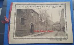 Album Ancien Avec 16 Clichés - DOLE ( Jura ) - Ecole Notre Dame Du Mont Roland - 1931 / 1932 - TOP RARE