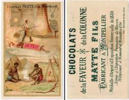 Chromo Chocolat Matte Fils, Montpellier - Le Feu ( Forge ) - Chocolat