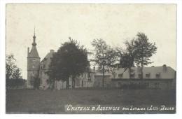 CPA - Photo Carte - Foto Kaart - Château D´ ASSENOIS Par Lavaux - N2   // - Vaux-sur-Sûre