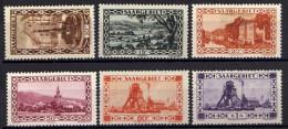 Saargebiet, Mi 108-110; 114; 116-117 * [200415IV] - Coordination Sectors