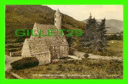 GLENDALOUGH, IRELAND - ST. KEVIN'S KITCHEN - PUB. BY VALENTINE & SONS LTD - COLLO COLOUR - - Wicklow