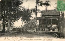 Type D'une Maison Cambodgienne - Vietnam