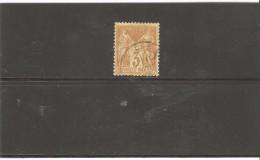 FRANCE SAGE N°86  OBLITERE - 1876-1898 Sage (Type II)