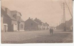 THULIN Carte Photo 1919    Rue Du Sardon - Belgium