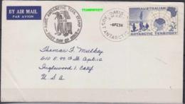 AAT 1958 Davis  FDC Ca 6 Fe 58 (21119) - FDC