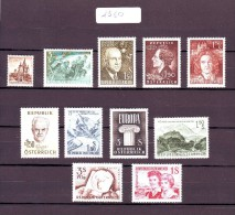 Austria/�sterreich 1960 - 1999 Complet all YEARS with ALL Stamps and BLocks Lock Pictures MNH/**/Postfrisch