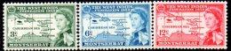 Montserrat 1958 W. Indies Federation Set Of 3, MH - Montserrat