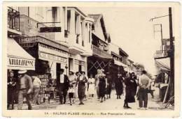 Valras-Plage - Rue Française ( Centre ) - France