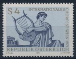 **Österreich Austria 1971 ANK 1395 Mi 1365 (1) Lyra Choir Festival Greek Bard MNH - 1945-.... 2nd Republic
