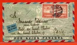 CHILI LETTRE DE 1948 DE TALCAHUANO POUR PARIS FRANCE - Chili