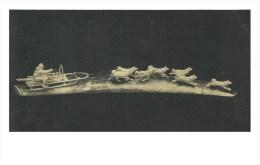 "RUSSIA - RUSSIE - RUSSLAND Hazov ""Dog Team"" Fossil Ivory Carving - Sculpturen"