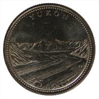 Canada 25 Cents 1992 Yukon 125° Anniversary Of Confederation #1908A - Canada