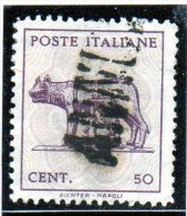 1944 Italia - Lupa Capitolina - 5. 1944-46 Lieutenance & Umberto II