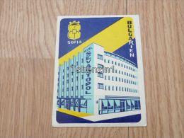 Hotel Sevastopol Sofia Bulgarien Bulgary Kofferanhänger Luggage Tag Hotel Label Hotel-Aufkleber - Etiketten Van Hotels