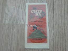 Hotel Chipka Stoletov Balkantouriste Bulgarie Kofferanh�nger luggage tag hotel label Hotel-Aufkleber