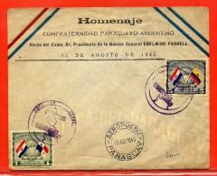 PARAGUAY LETTRE DE 1945 - Paraguay