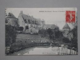Ref4070 JU CPA De Bersac (Limousin) - Chateau Du Chambon - Edit. Vve Moreau - Poules étang - Francia