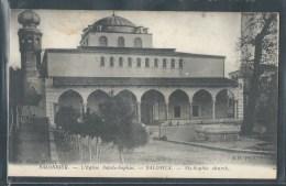 - CPA GRECE - Salonique, L'église Sainte-Sophie - Greece