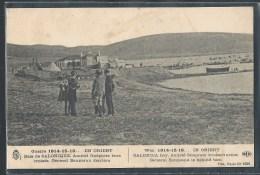 - CPA GRECE - Salonique, Amiral Guéprate Bras Croisés - Derrière Le Général Baumann - Greece
