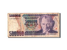 Turquie, 500 000 Lira Type Atatürk - Turquie