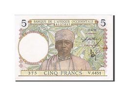 [#257720] Afrique Occidentale, 5 Francs, Type 1934-1937 - Altri – Africa