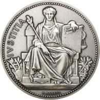 [#87791] Médaille, Monnaie De Paris, Justice, Argentée - Non Classés