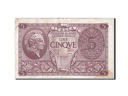 Italie, 5 Lire, Type 1944 - [ 1] …-1946 : Kingdom