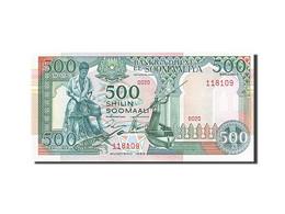 Somalie, 500 Shillings, Type Loi Du 1er Janvier 1989 - Somalia