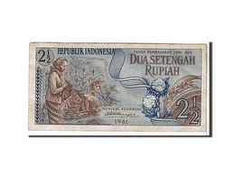 [#109230] Indonésie, 2 1/2 Rupiah Type 1961 - Indonésie