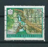 2001 Austria Barenschutzklamm Used/gebruikt/oblitere - 1945-.... 2ème République