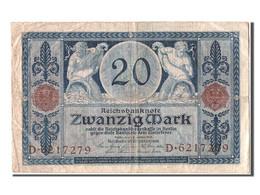 [#304540] Allemagne, 20 Mark Type 1915-19 - [ 3] 1918-1933 : République De Weimar