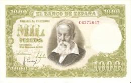 BILLETE DE ESPAÑA DE 1000 PTAS DEL 31/12/1951 SERIE C CALIDAD EBC (XF) (BANKNOTE) - [ 3] 1936-1975: Franco